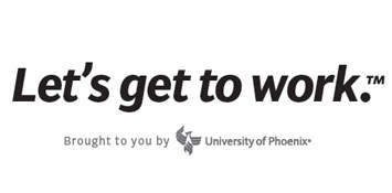 University of Phoenix Let's get to work
